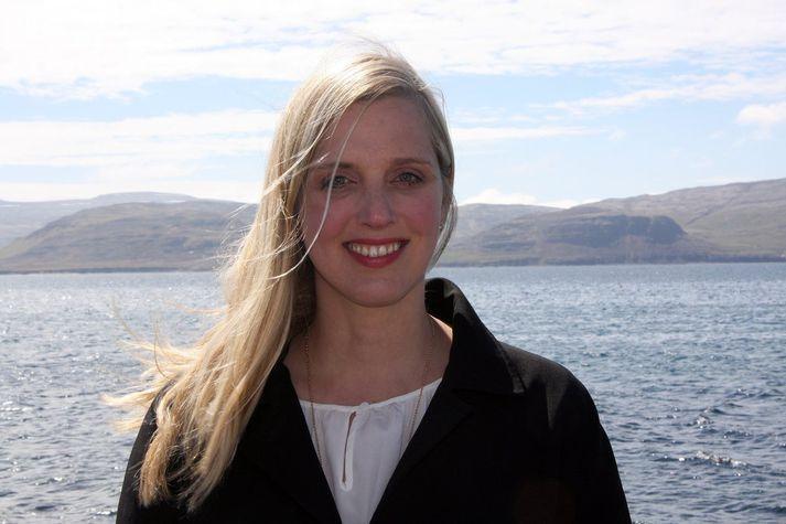 Ásthildur Sturludóttir var áður bæjarstjóri Vesturbyggðar.