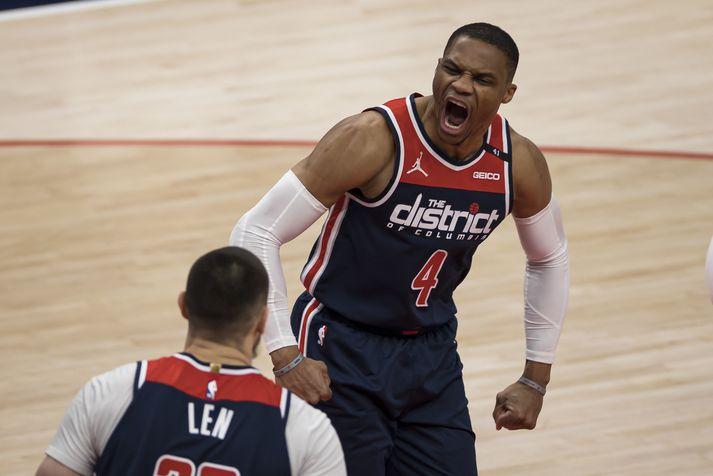 Westbrook hefur verið hjá Washington Wizards síðastliðið ár.
