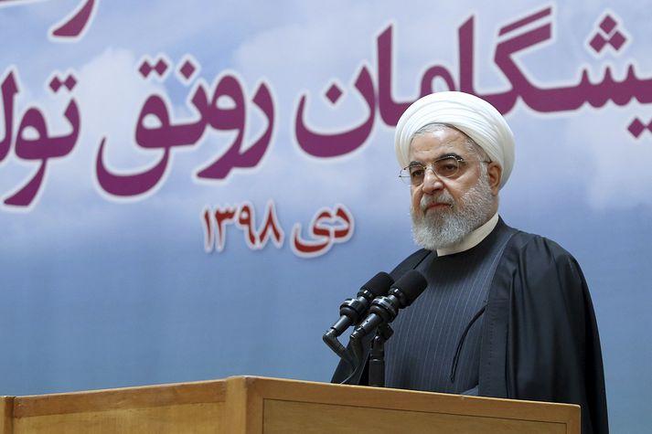 Hassan Rouhani, forseti Íran.