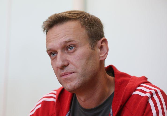 Navalny fyrir dómi í mánuðinum.