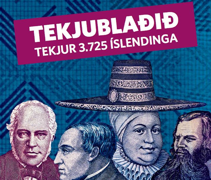 Forsíða tekjublaðs Frjálsrar verslunar, sem kemur út á þriðjudag.