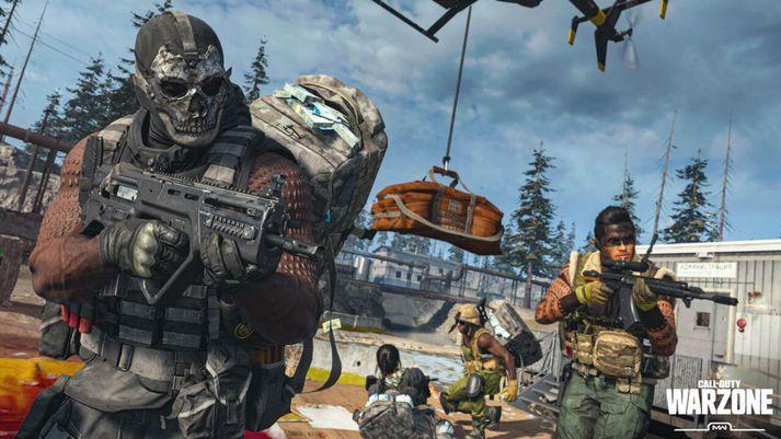 Call of Duty: Warzone er einn vinsælasti leikurinn þessa dagana.
