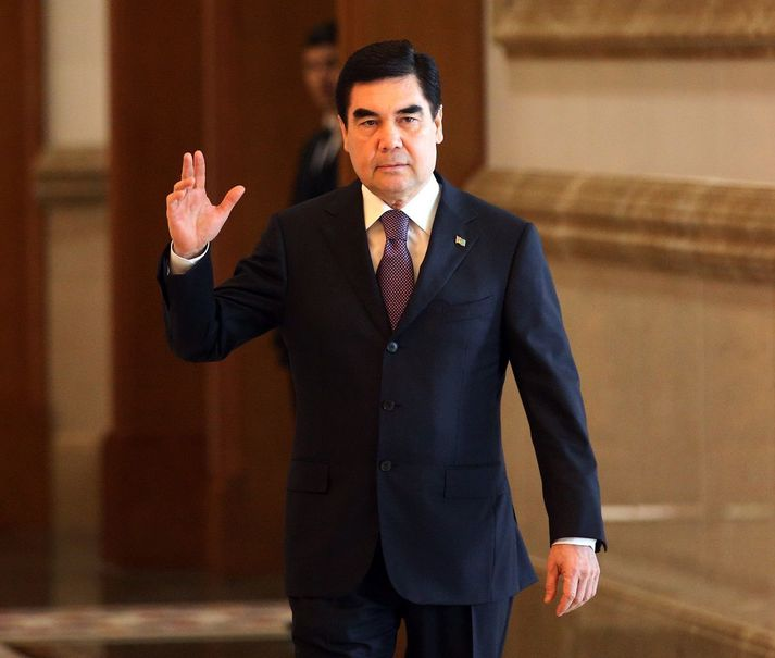 Gurbanguly Berdymukhamedov, einræðisráðherra Túrkmenistan.