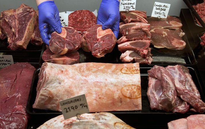 Gen af eiturberandi E.coli fannst í þriðjungi sýna af lambakjöti. Lifandi baktería var í 16 prósentum sýna.