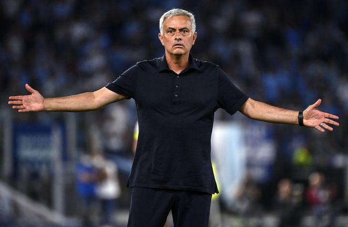 Mourinho var ekki sáttur