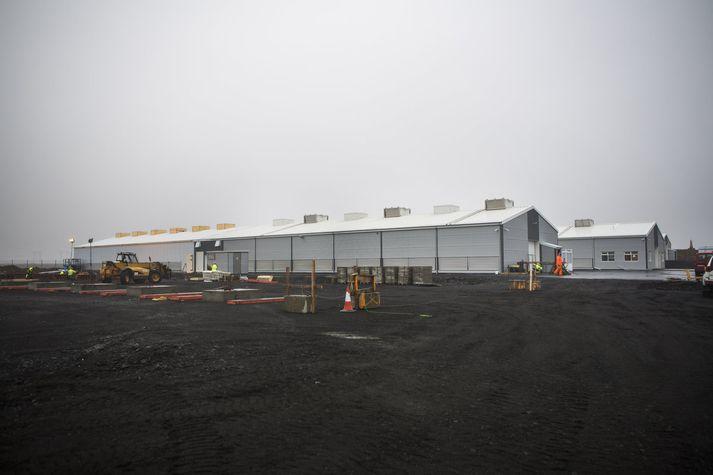 Starfsemi Genesis Mining, sem Hive Blockchain Technologies hefur keypt, er rekin í gagnaveri Advania á Fitjum í Reykjanesbæ.