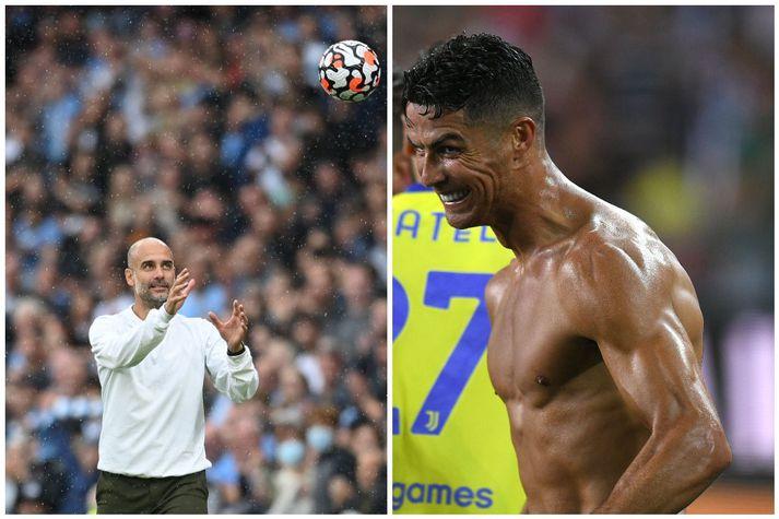Manchester City hefur verið boðið að kaupa Cristiano Ronaldo. Hvort Pep Guardiola hafi áhuga er svo annað mál.