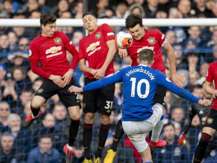 Leikmenn Manchester United og Everton eru á meðal þeirra sem taka þátt í söfnuninni.