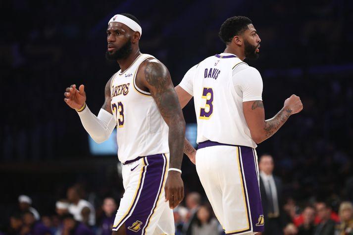 Er þetta besta tvíeyki NBA deildarinnar?