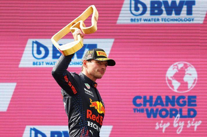 Max Verstappen er á góðu skriði í Formúlunni.
