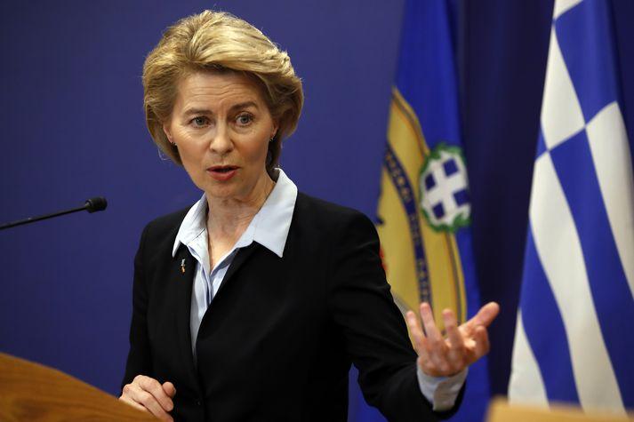 Ursula von der Leyen yrði fyrsti kvenkyns forseti framkvæmdaráðsins.