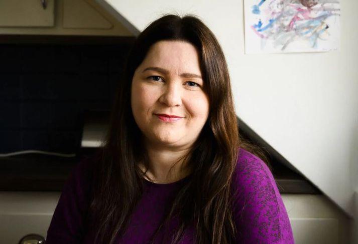 Elín Marta stofnaði Facebook-grúppuna Jólabörn fyrir fimm árum. Nú er síðan með 1.900 jólabörn sem fylgjendur.