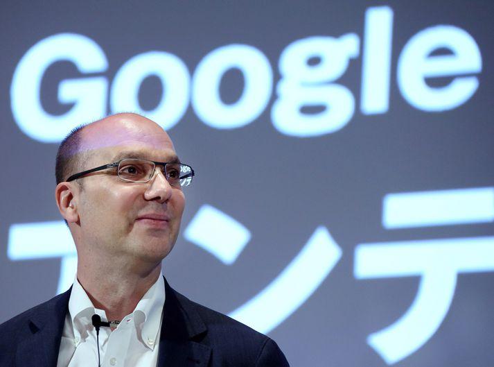 Andy Rubin árið 2013, þegar hann starfaði fyrir Google.