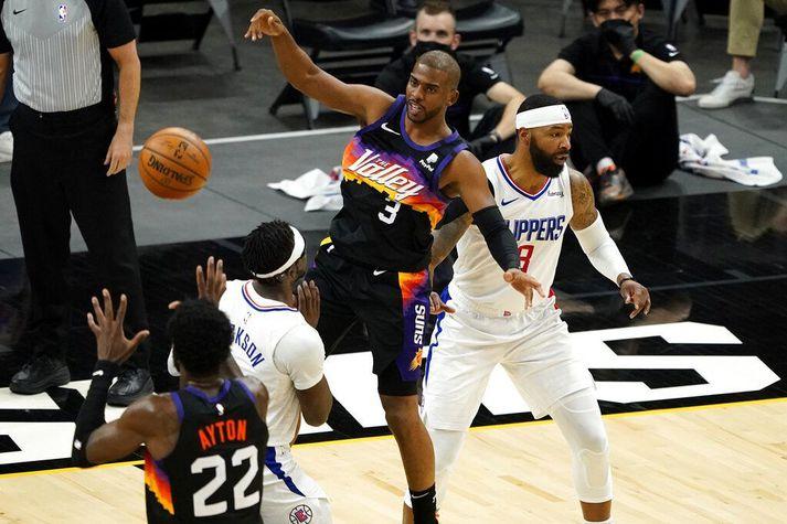 Chris Paul er einn af þeim sem hafa komið Phoenix Suns í toppbaráttu eftir eyðimerkurgöngu.