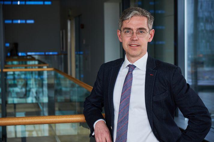 Einar Gunnar Guðmundsson stýrði Startup Reykjavík fyrir hönd Arion banka.