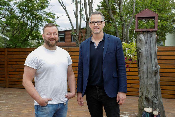 Matti Osvald og Gísli Álfgeirsson.