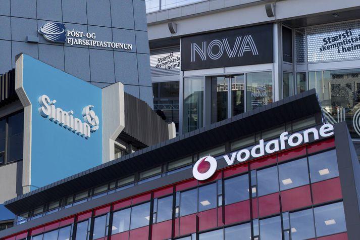 Vodafone og Nova kvörtuðu undan Símanum til Póst- og fjarskiptastofnunar.
