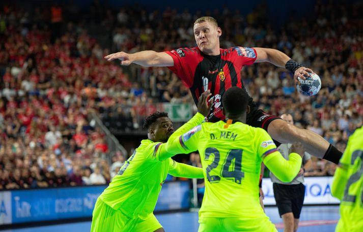 Heljarmennið Dainis Krištopāns skoraði 13 mörk þegar Lettar tryggðu sér sæti á EM 2020.