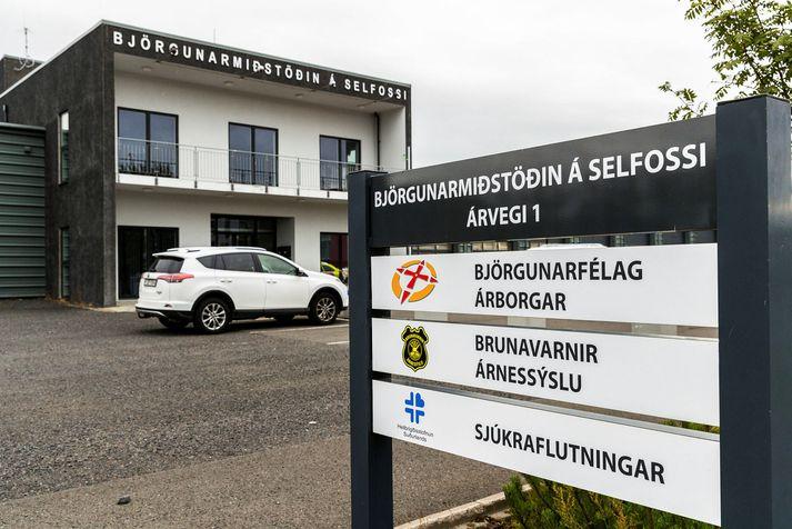 Björgunamiðstöðin á Selfossi, þar sem Björgunarfélag Árborgar er til húsa.