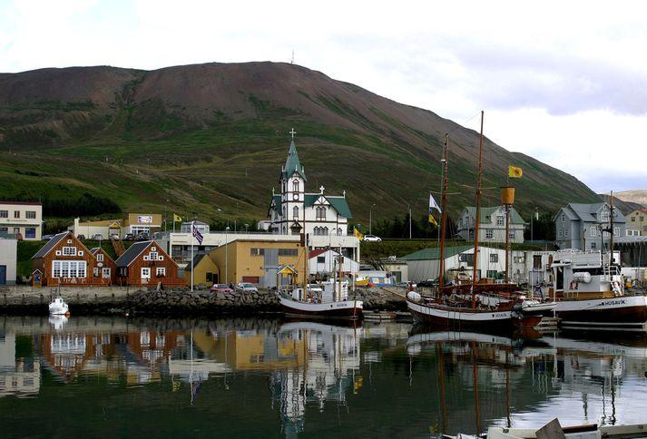 Frá Húsavík, þar sem Örlygur Hnefill rekur Hótel Cape.