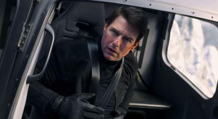 Tom Cruise mættur sem Ethan Hunt.