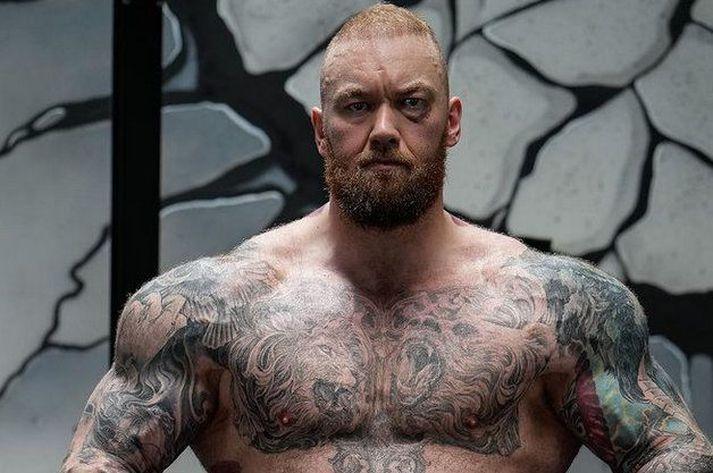 Hafþór Júlíus Björnsson er búinn að skera sig mikið niður og segist líka líða miklu betur.