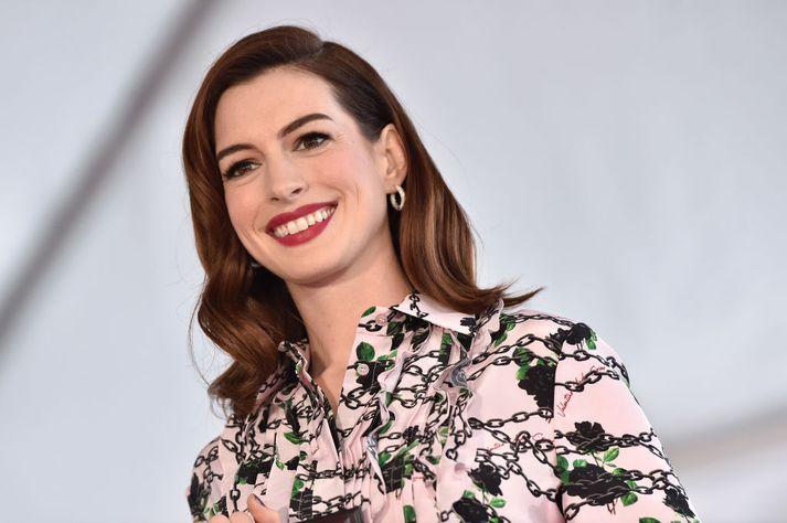 Ekki er vitað hvort Anne Hathaway hafi orðið vitni að árásinni.