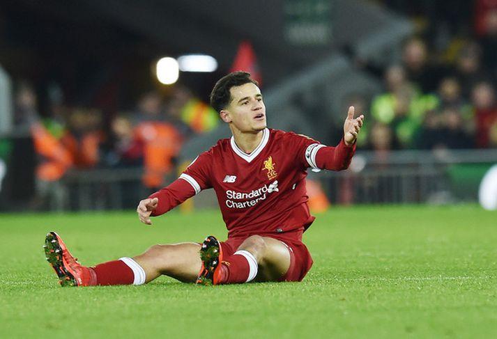 Philippe Coutinho hefur spilað vel með Liverpool í vetur.