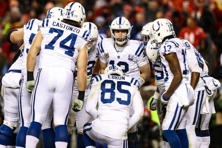 Úr leik hjá Colts.