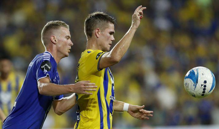 Viðar Örn Kjartansson lék með liði Maccabi Tel Aviv á sínum tíma. Hann þekkir því vel til aðstæðna á Bloomfield leikvanginum í Tel Aviv.