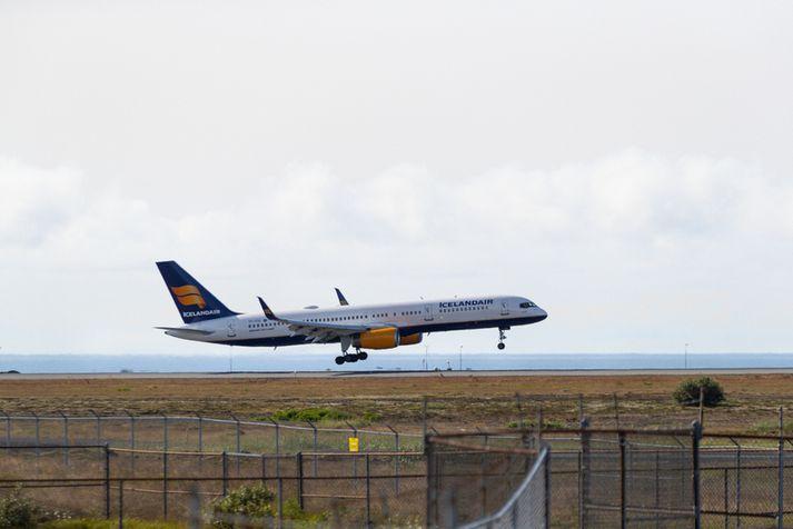 Bréf í Icelandair hafa verið á miklu flugi að undanförnu.