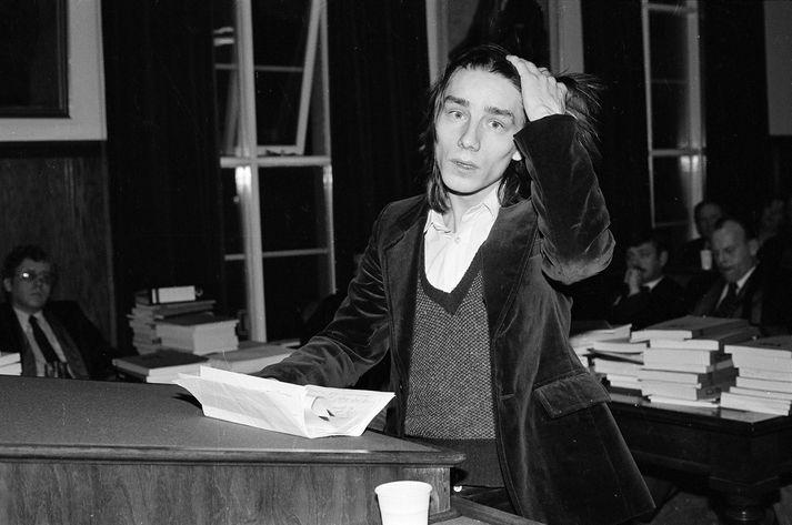 Sævar Cieselski í Hæstarétti árið 1980.