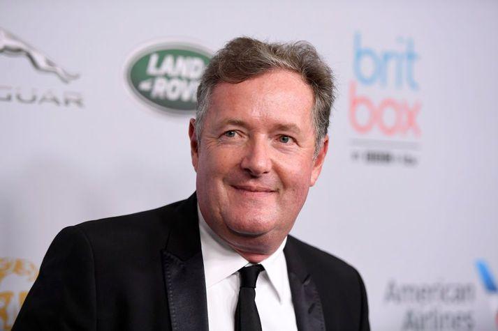 Piers Morgan fjölmiðlamaður var heldur ósáttur við kollega sinn í þættinum Good Morning Britain í morgun.