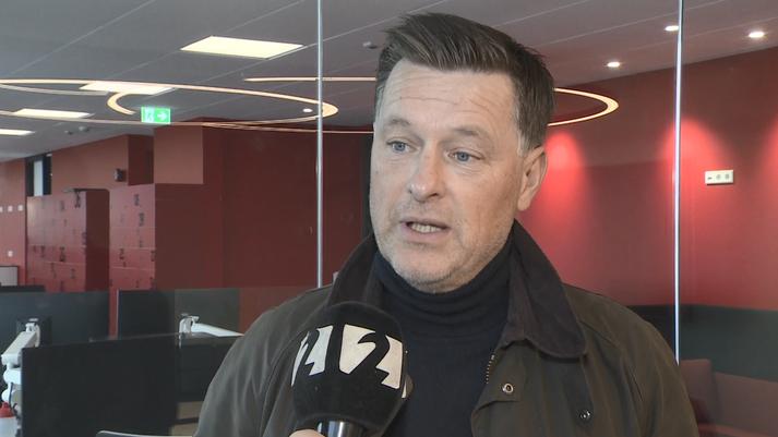 Edvard Börkur Edvardsson er formaður knattspyrnudeildar Vals.