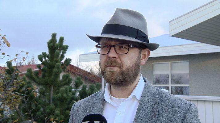 Gunnlaugur Jónsson, framkvæmdastjóri Eykons Energy.