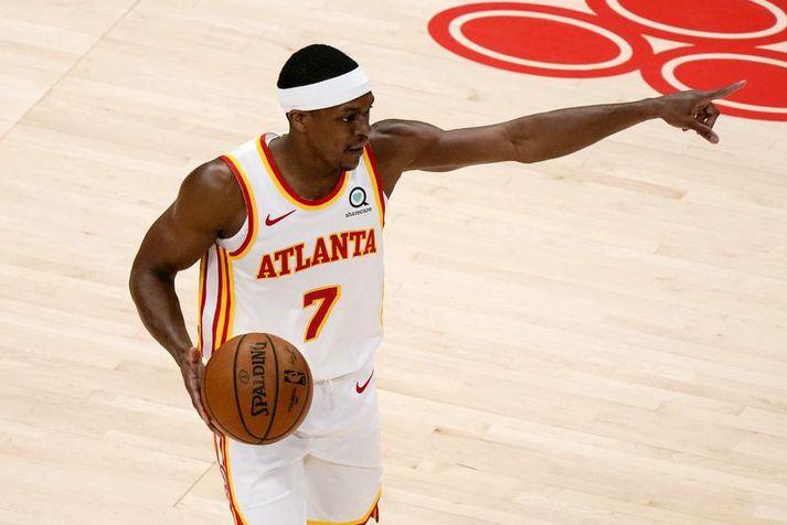 Rajon Rondo er ætlað að hjálpa Los Angeles Clippers að vinna loksins titilinn.