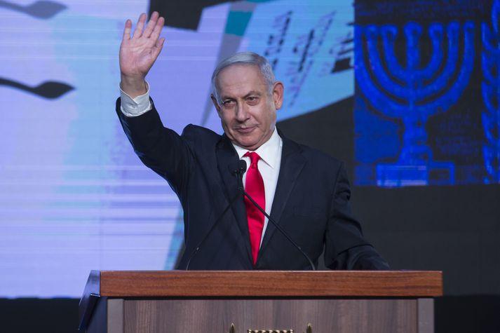 Benjamín Netanjahú hefur verið forsætisráðherra Ísraels frá árinu 2009.