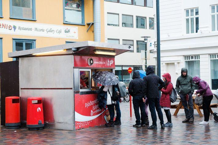 Söluturninn við Tryggvagötu í miðborg Reykjavíkur.