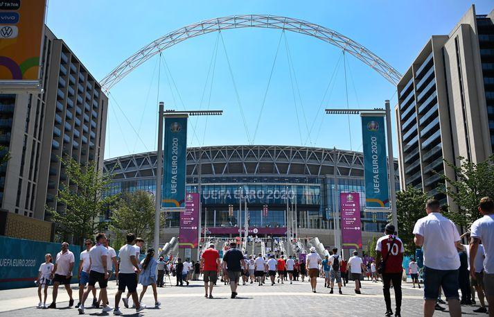 Úrslitin munu ráðast á Wembley þann 11.júlí næstkomandi.