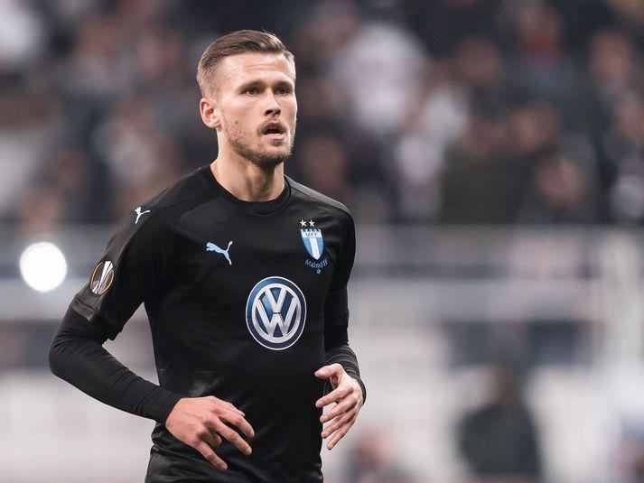 Arnór Ingvi lék fyrstu 86 mínúturnar í tapi Malmö fyrir Dynamo Kiev.