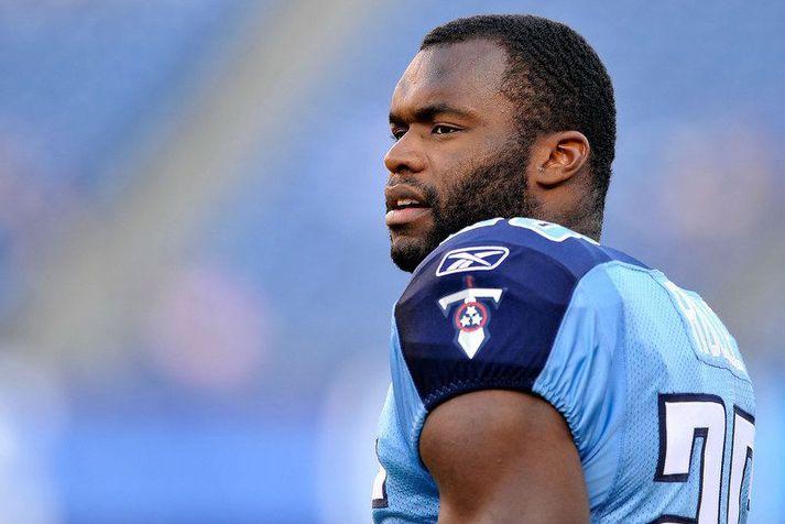 Myron Rolle þegar hann var leikmaður Tennessee Titans liðsins í NFL-deildinni.
