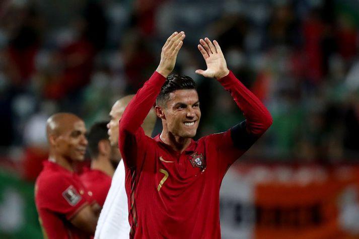 Cristiano Ronaldo mun spila í treyju númer sjö hjá Manchester United, líkt og hann gerði forðum.