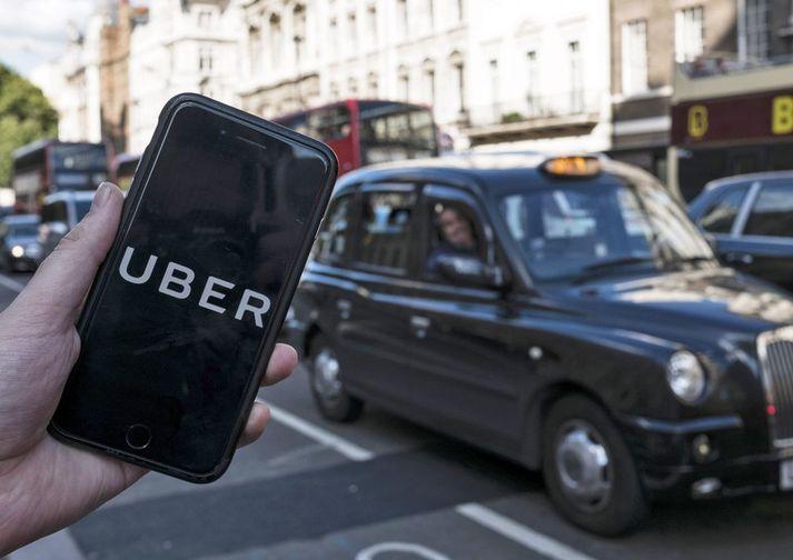 Uber hóf starfsemi í London síðla árs 2015.
