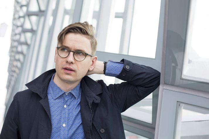 Víkingur Heiðar hlaut aðalverðlaun kvöldsins.