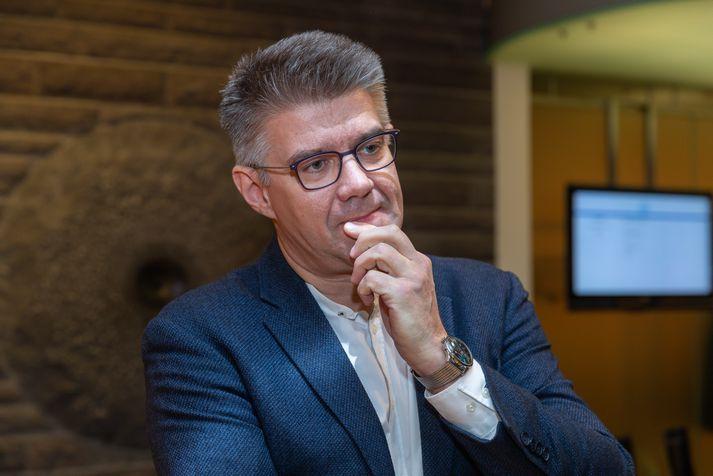 Gunnar Bragi Sveinsson, þingmaður Miðflokksins.