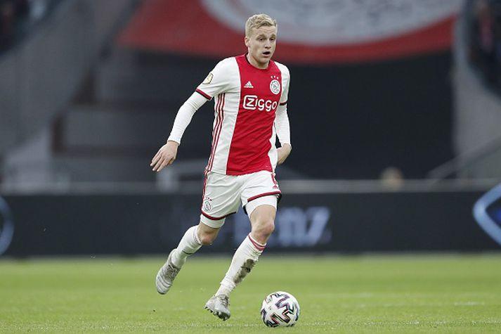 Van De Beek í leik með Ajax fyrr á leiktíðinni.