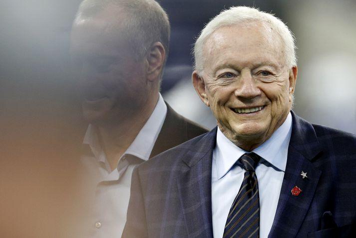Jerry Jones, eigandi Dallas Cowboys.