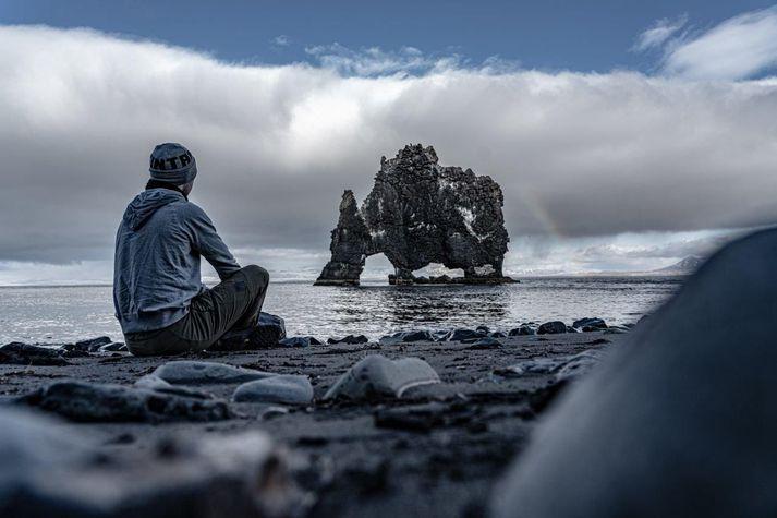 Garpur Elísabetarson er einn á einstöku ferðalagi um Ísland á tímum kórónuveiru.