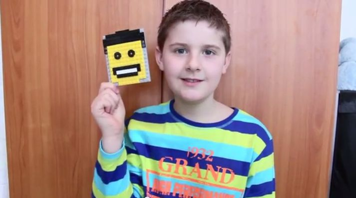 Brynjar Karl er uppátækjasamur strákur sem hefur mikinn áhuga á LEGO.