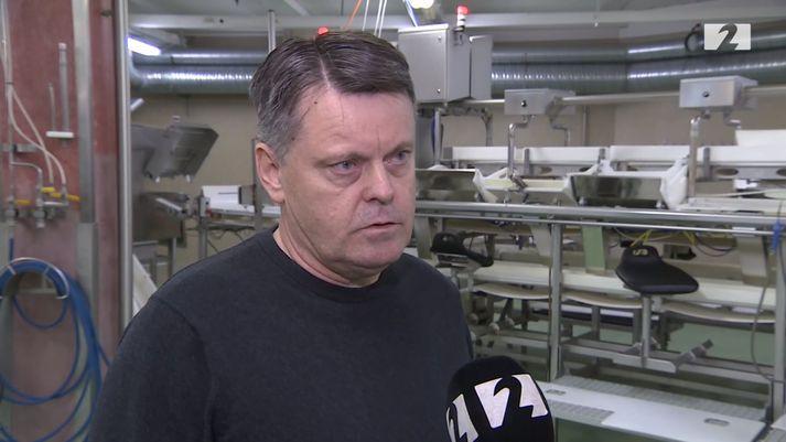 Albert Svavarsson, framkvæmdastjóri Ísfisks.